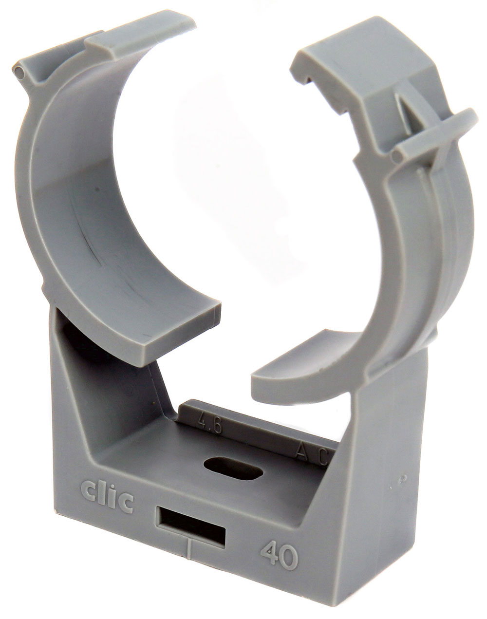 CLIC Pipe Clamps dia 8 - 64mm.