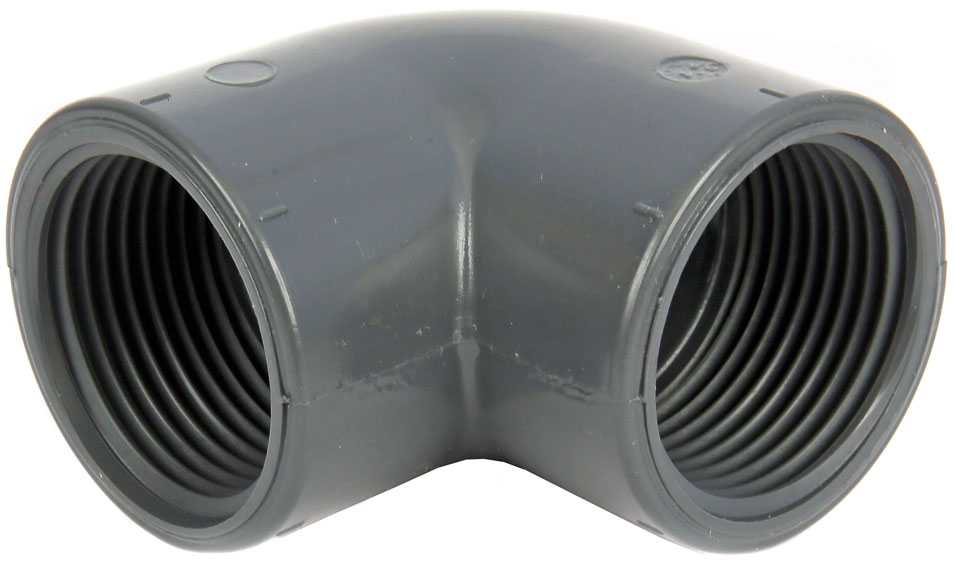Product code: EL51. 90° Elbow. Available in ABS and PVC.