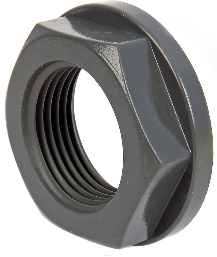 Product code: NU91. Back Nuts. Available in ABS and PVC.